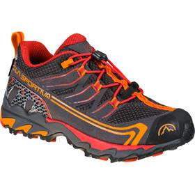La Sportiva Falkon Low GTX Shoes Kids, carbon/cherry